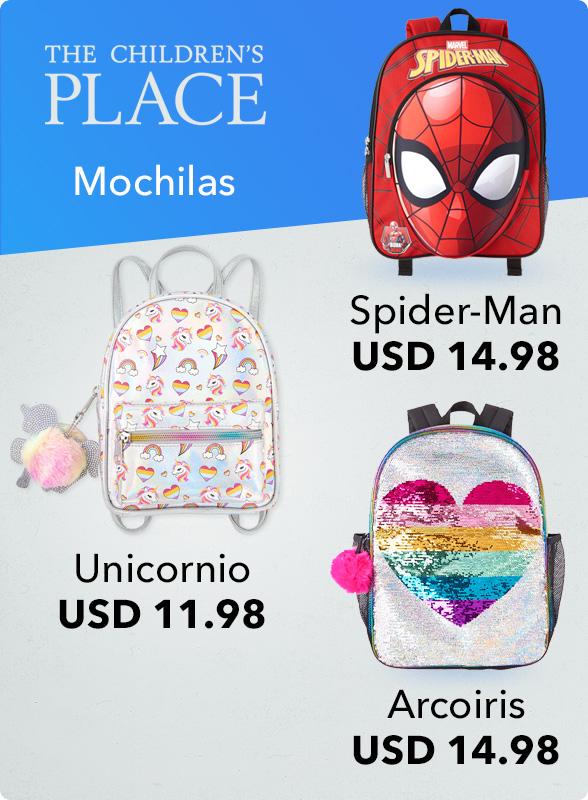 The Children's Place Mochilas Spider-Man USD 14.98